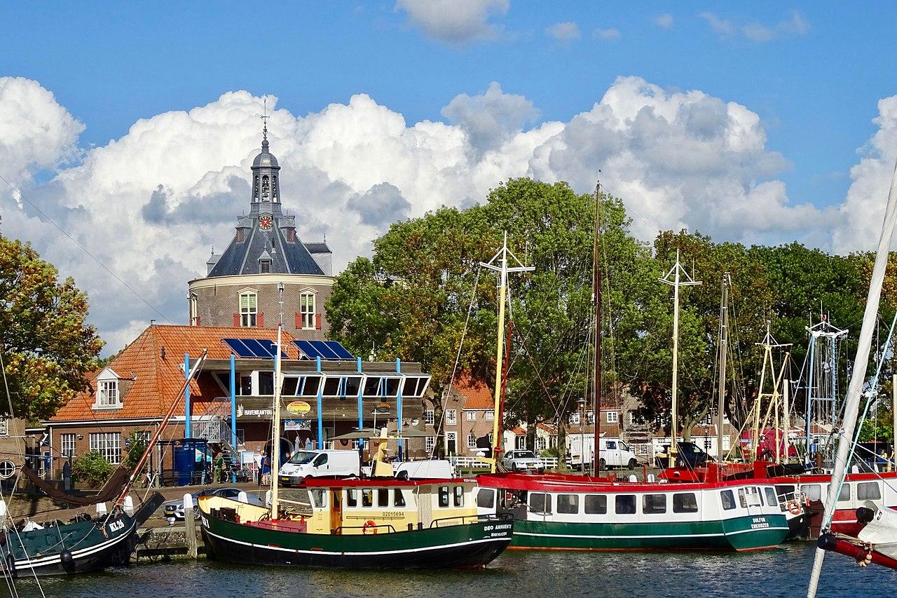 Enkhuizen: Buitenhaven en Drommedaris